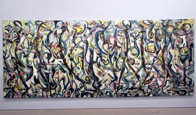 Energy made visible jackson pollocks mural in berlin for Mural 1943 by jackson pollock