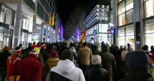 PEGIDA-Protest in Dresden (Archivbild)