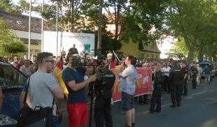 NPD-Demonstration in Dresden
