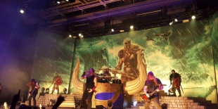 Amon Amarth am 29.10.2016 in der Alsterdorfer Sporthalle