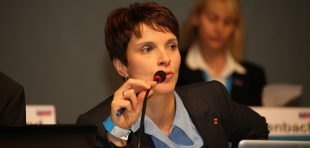 Frauke Petry, Bundessprecherin der AfD
